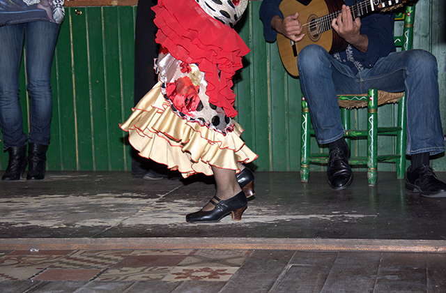 tablaos flamencos - Museo Flamenco Juan Breva