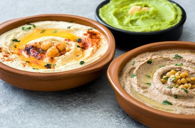 The best tapas in Malaga - hummus