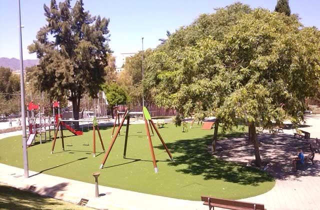 playgrounds in Malaga - playgrounds in Malaga - Parque San Miguel malaga