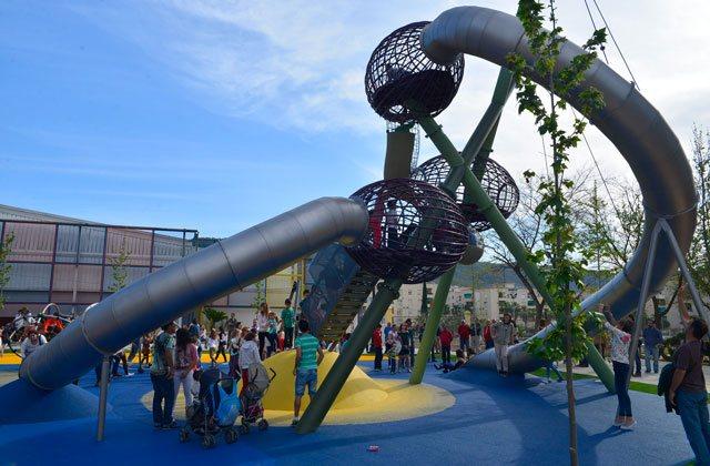 Los mejores parques infantiles en Málaga - parque las negritas antequera