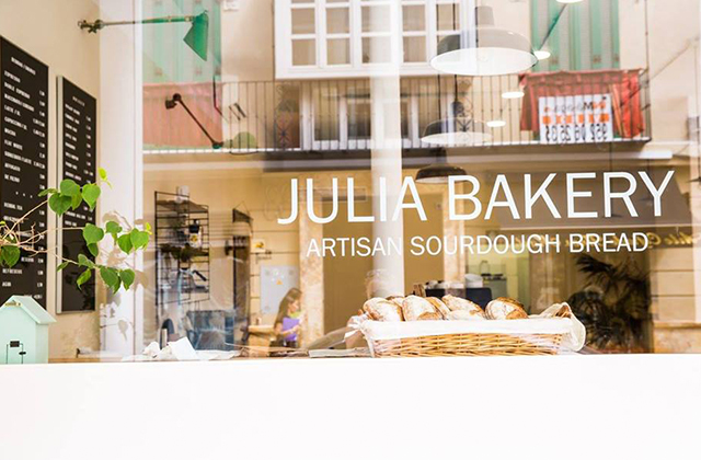 Cafeterías en Málaga - Julia Bakery