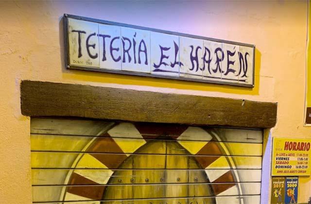Tetería El Harén, Málaga