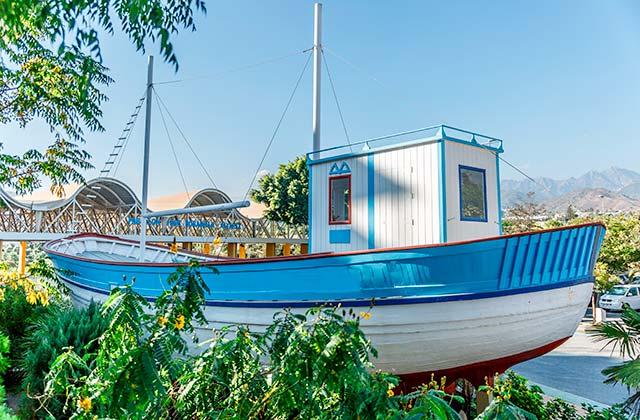 Barco de Chanquete Nerja