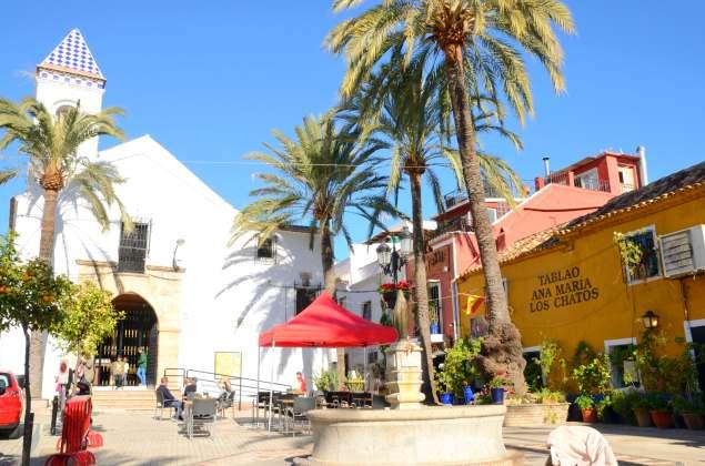 Barrio Alto, Marbella. Crédito editorial: monysasu / Shutterstock.com