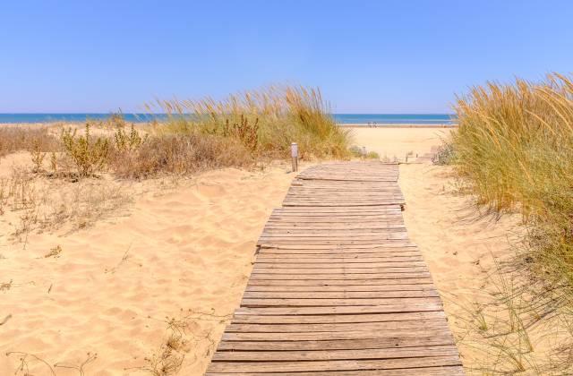 Costa de la Luz plages - Plage de Île Canela en Ayamonte