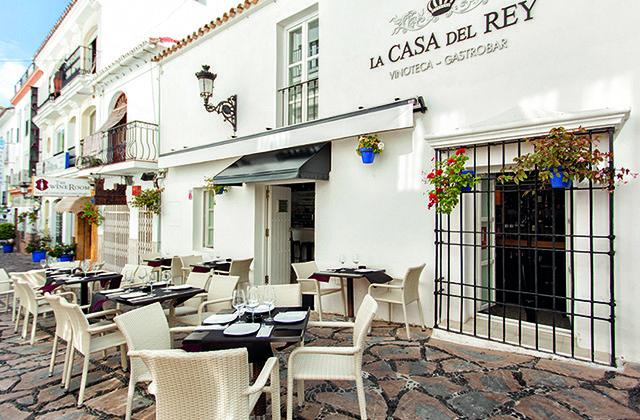 que ver en Estepona - Restaurante La Casa del rey