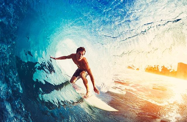 que hacer en Estepona - Surf en playa de Estepona