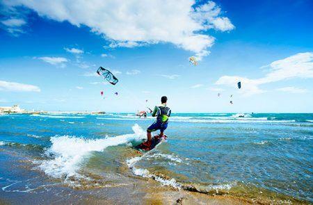 Kite surfing Marbella