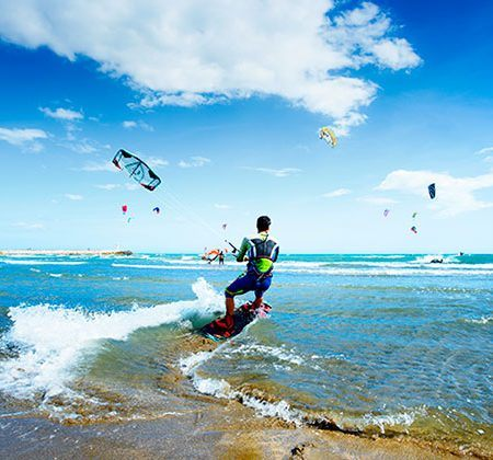 Kite surfing Marbella