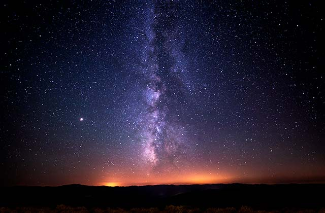 Milky Way Spain