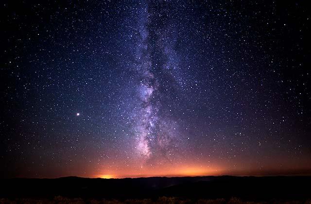 Milky Way Spain