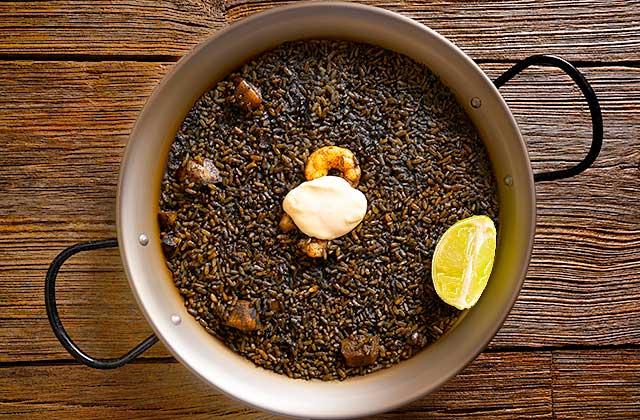 Riz noire (arroz negro)
