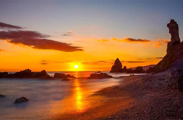 Sunsets in Andalucia - Playa de Maro, Málaga