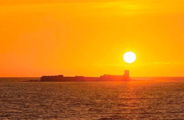 Sonnenuntergänge von Andalusien - Sancti Petri