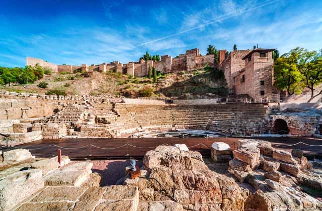 Empire Romain en Andalousie - Teatro Romano Málaga