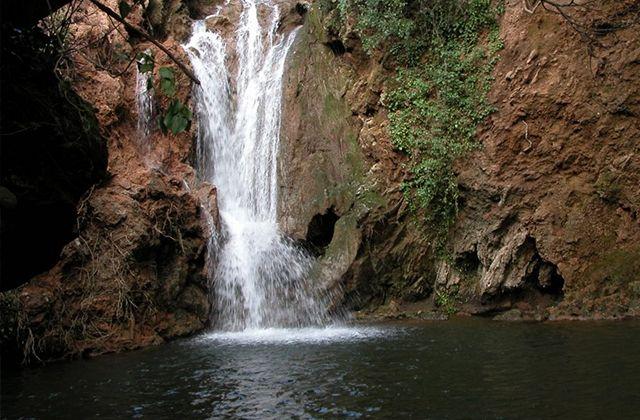 Wasserfälle Andalusiens - Cascada del Huesna