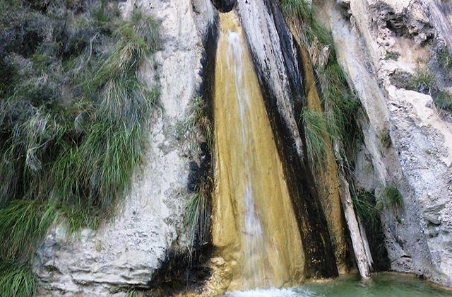 Wasserfälle Andalusiens - Cascada de los Árboles Petrificados