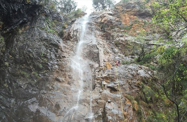 Waterfalls in Andalucia - Salto de la Rejía