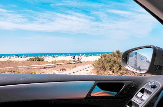 Como llegar a Tarifa en coche - Crédito editorial: Majasol / Shutterstock.com