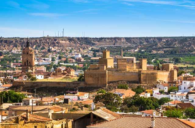 Guadix - Dörfer in Granada