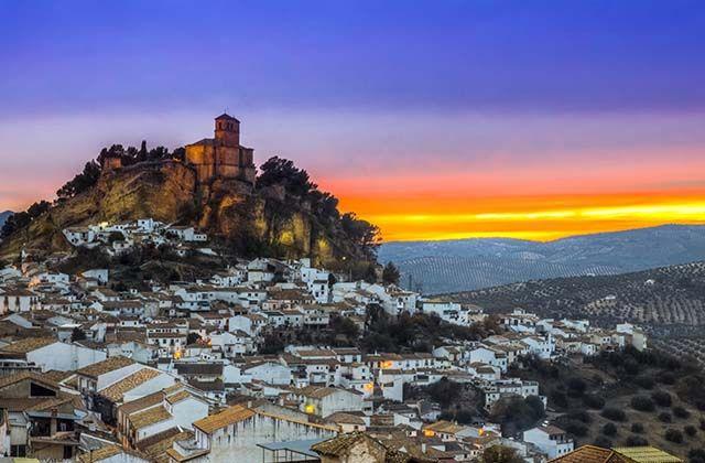 Dörfer in Granada - Montefrío