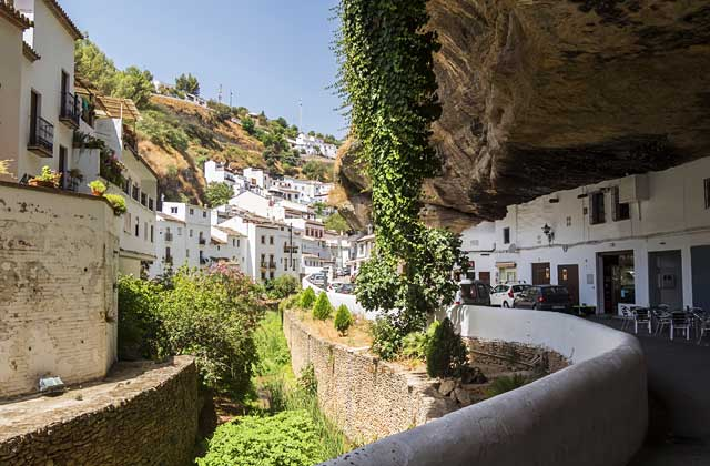 villages de l'Andalousie - Setenil de la Bodegas