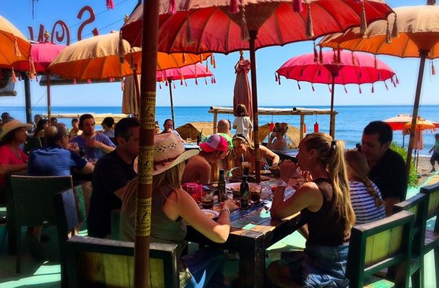Chiringuitos y terrazas en Estepona - Sonora Beach