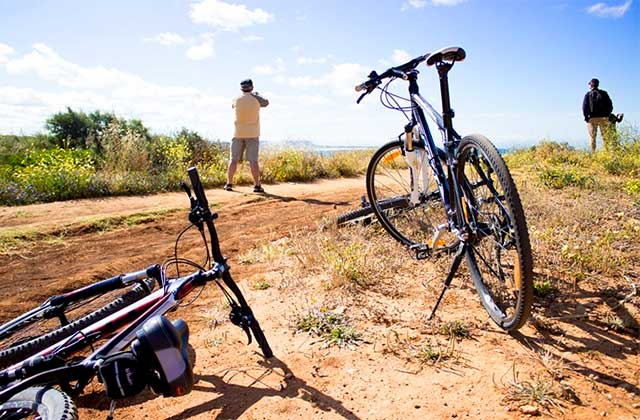 Rutas en bicicleta El Rompido