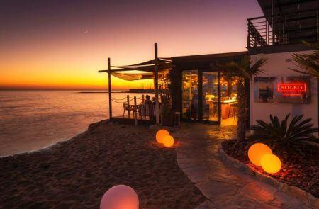 Soleo Marbella beach restaurnat
