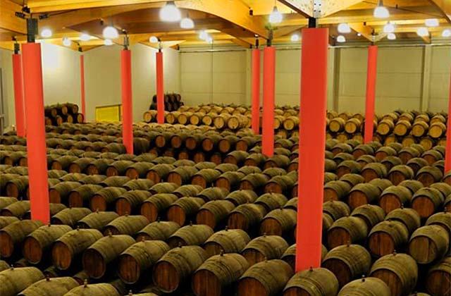 Bodega vino de Málaga