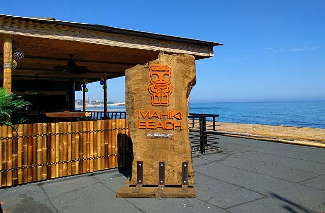 Mahiki Beach Marbella