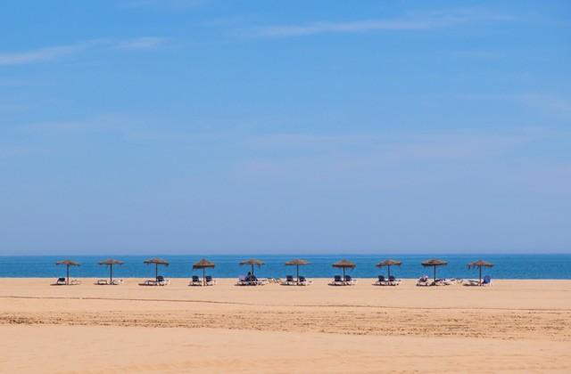 Playa de Isla Canela en Ayamonte (Huelva)