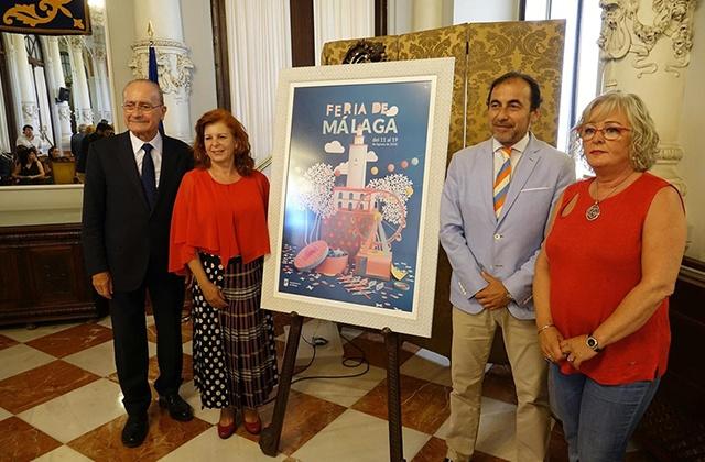 Abanderado de la Feria de Málaga 2018