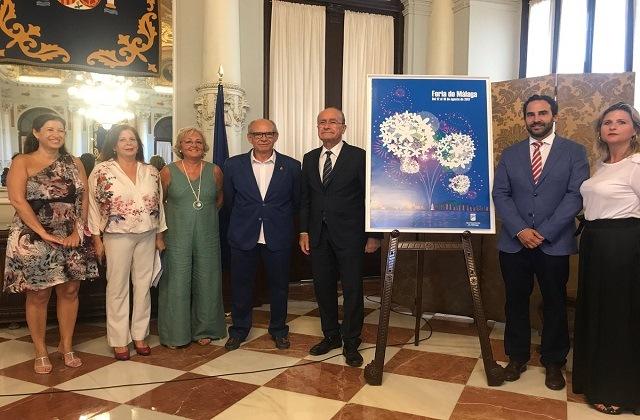 Abanderado de la Feria de Málaga 2017
