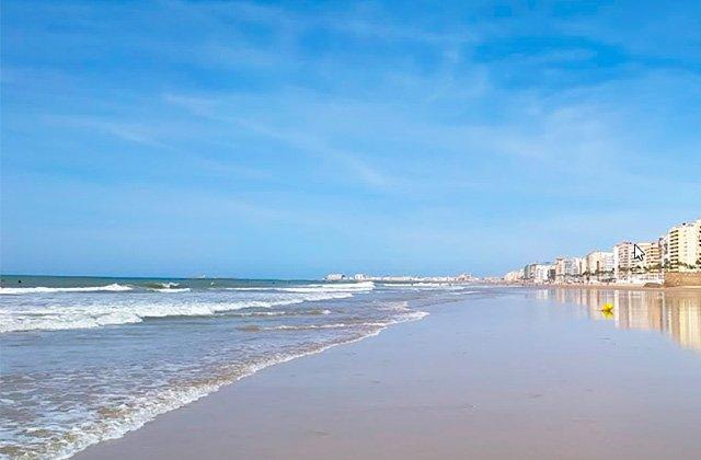 Playa de la Cortadura, Cádiz