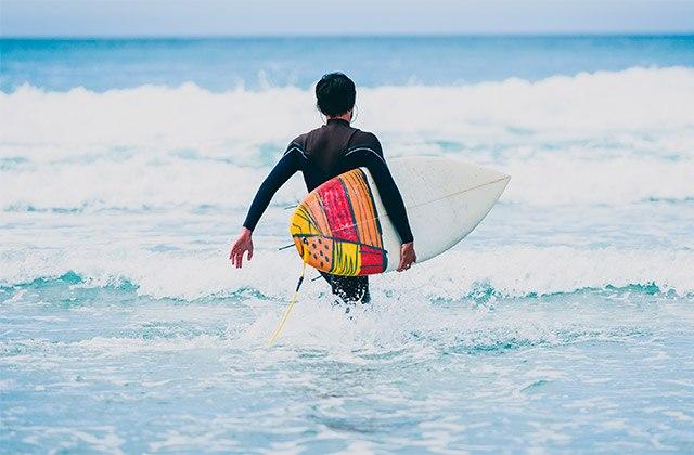 Surf Playa Punta del Río, Salobreña