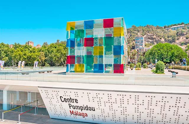 Centre Pompidou Málaga - Crédito Andrei Nekrassov / Shutterstock.com