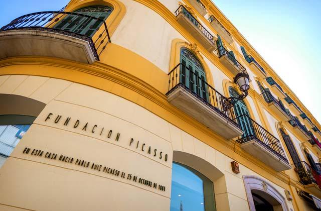 Fundación Picasso Málaga - Crédito editorial: klublu / Shutterstock.com
