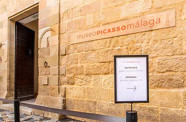 Museo Picasso Málaga - Crédito editorial: David MG / Shutterstock.com