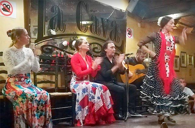 Tablao Flamenco La Cava, Cádiz