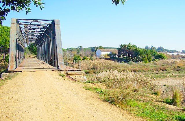 La vía verde litoral (Ayamonte – Cartaya)