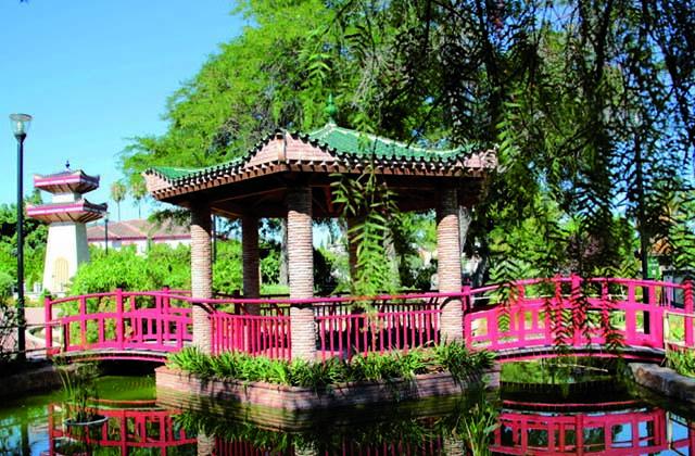 Los mejores parques infantiles en Málaga - jardín oriental bienquerido alhaurín dela torre