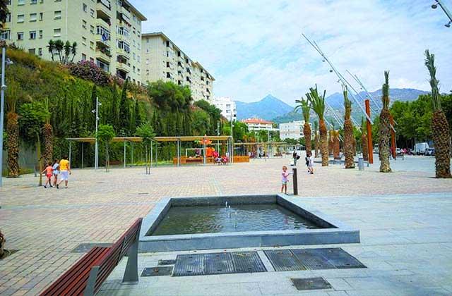 Parque urbano de Las Albarizas