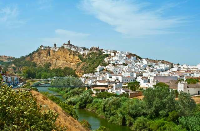 villages de l'Andalousie - Arcos de la Frontera Cadiz