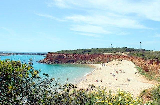 Playa Cala del Aceite en Conil