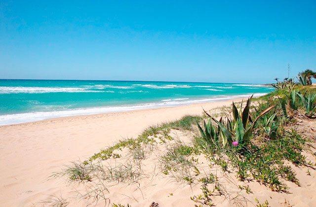 Costa de la Luz plages - Playa de Caños de Meca