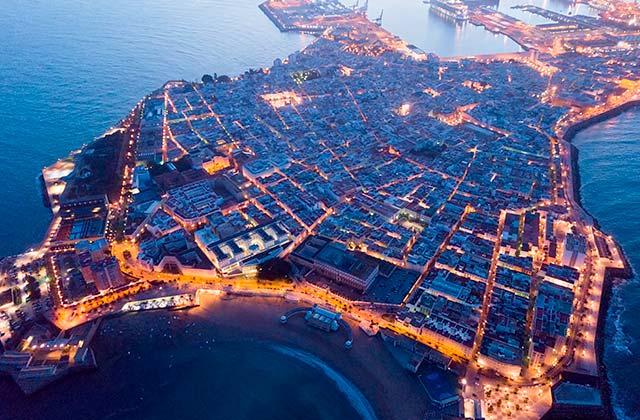 El Mentidero de Cádiz - vista aerea