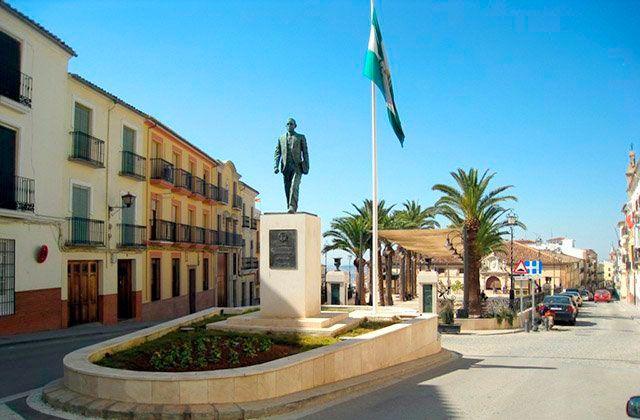 Monumento a Blas Infante en Archidona. Fotografía: javisiles.blogspot.com