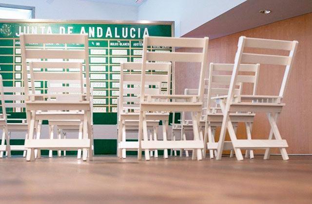 Recreación de las votaciones autonómicas en el Museo de la Autonomía de Andalucía. Fotografía: centrodeestudiosandaluces.es
