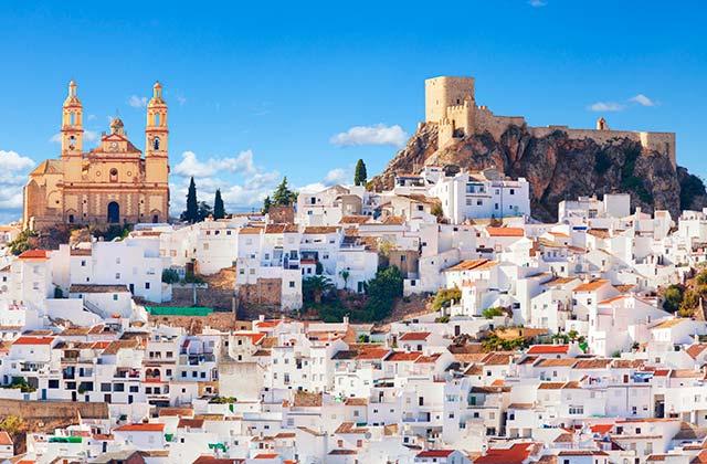 pueblos blancos de Cádiz y Huelva - Olvera